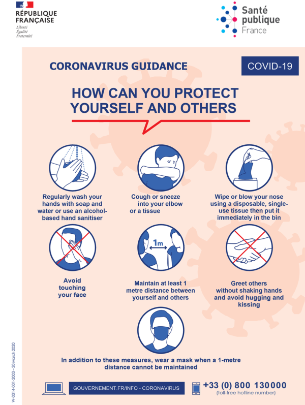 COVID 19 - How can you protect yourself and other, Chilo Tipi / © DR